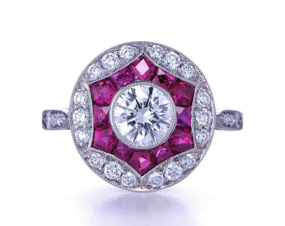 Pink diamond engagement rings price wedding and bridal for Pink diamond wedding rings