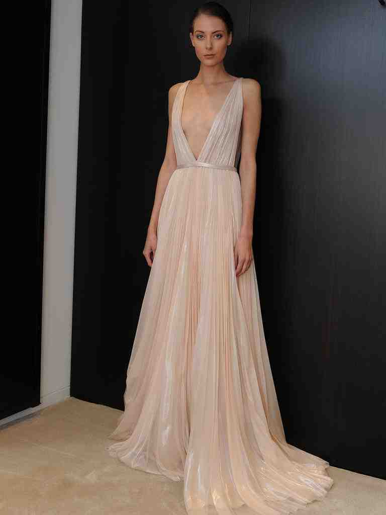 Pink Wedding Dress Meaning Wedding And Bridal Inspiration