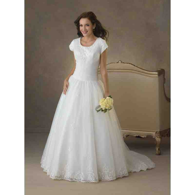 Plus Size Modest Wedding Dresses