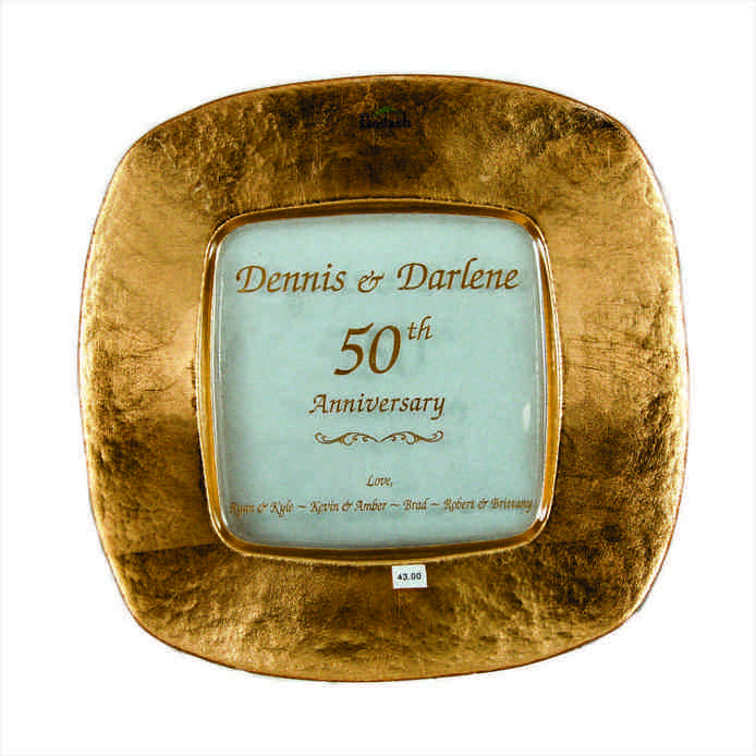 Traditional 50th wedding anniversary gifts wedding and for Present for 50th wedding anniversary
