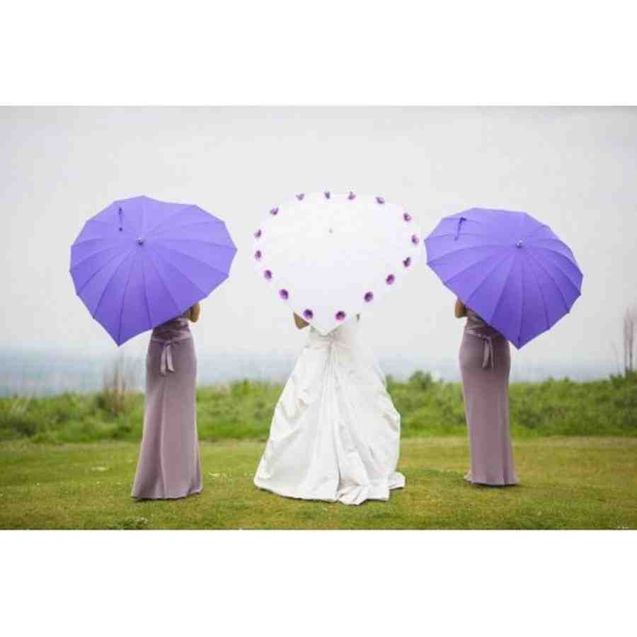 Wedding umbrellas wedding and bridal inspiration for Umbrella wedding photos