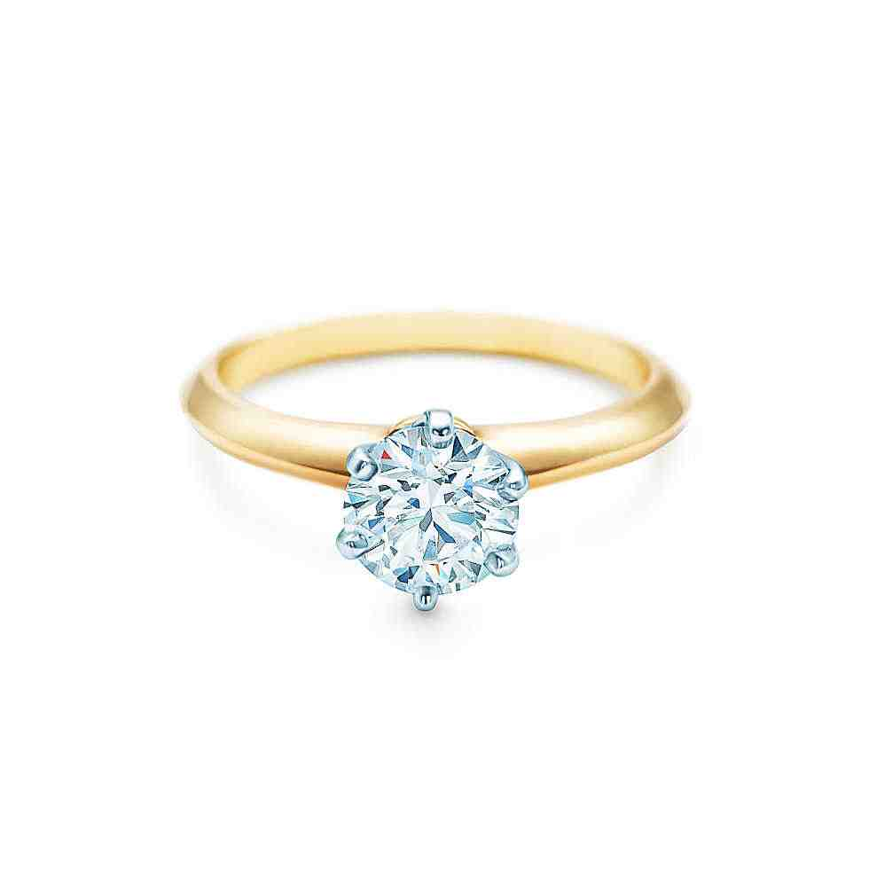 Yellow Gold Engagement Ring Settings Wedding and Bridal Inspiration