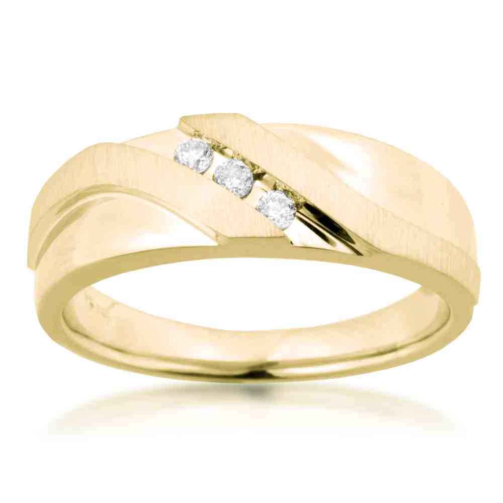 Yellow Gold Wedding Bands The Three Golden Rules in Finding Wedding and Br