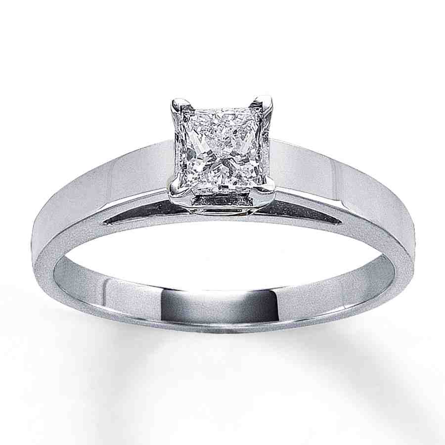 Carat Square Diamond Engagement Rings Wedding And Bridal