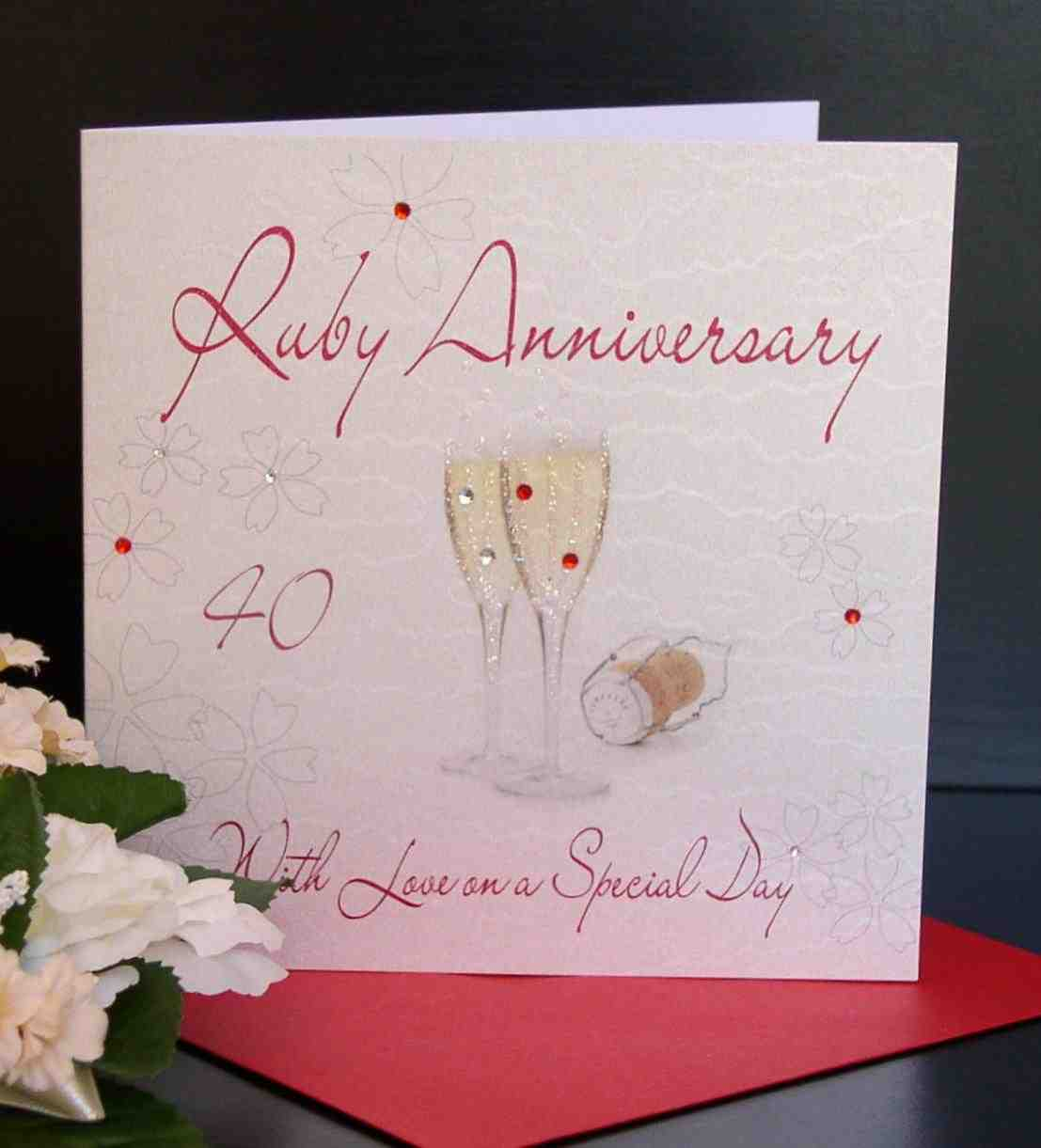 Wedding Anniversary Gifts For Parents 40 Years : 40Th Wedding Anniversary Gifts For ParentsWedding and Bridal ...