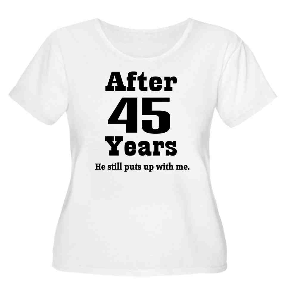 45Th Wedding Anniversary Gifts For Parents
