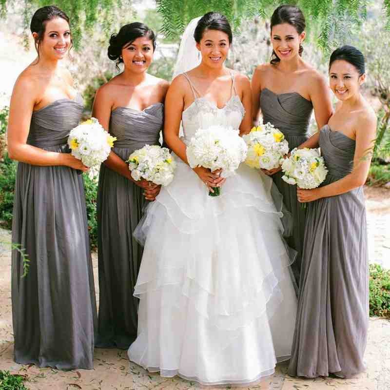 Grey Gowns Wedding: Is The New Neutral Right For