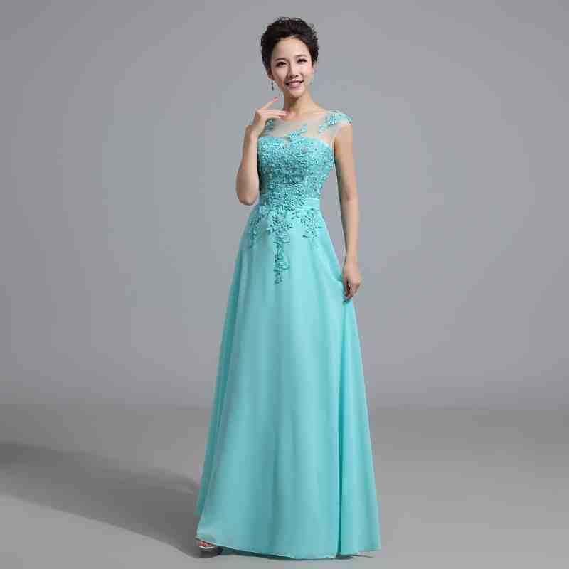 Light Teal Bridesmaid Dresses - Wedding and Bridal Inspiration