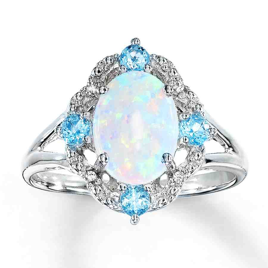 Opal Engagement Rings Are An Affordable And Beautiful