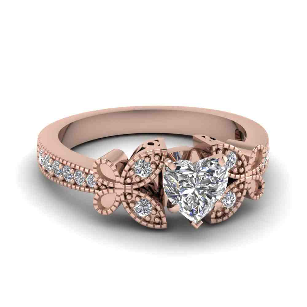 Rose Gold Square Engagement Rings Wedding and Bridal Inspiration