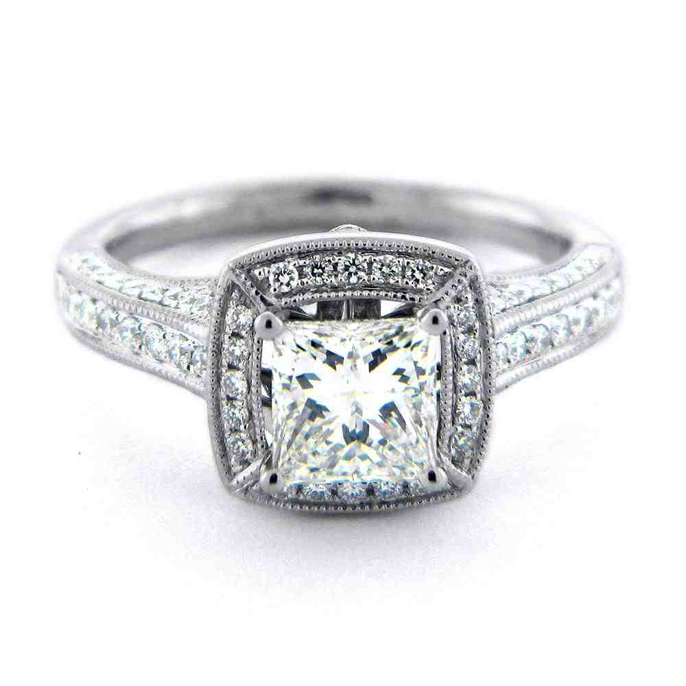 square engagement rings for women wedding and bridal With square wedding rings for women