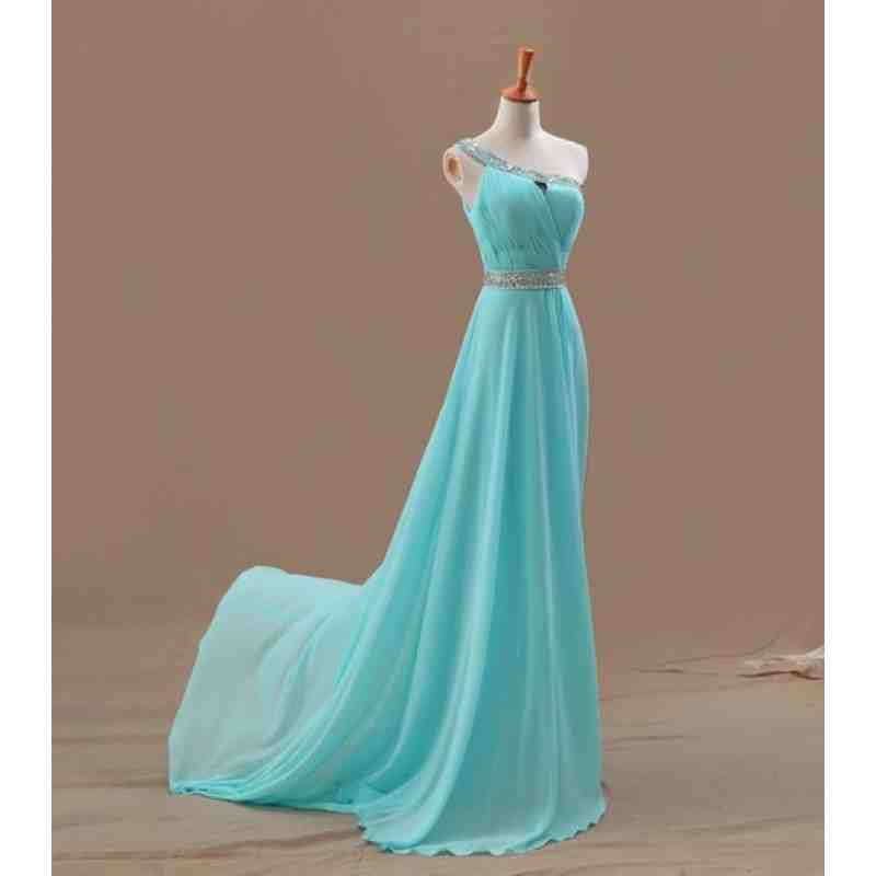 Tiffany blue chiffon bridesmaid dresses wedding and for Wedding dresses with tiffany blue