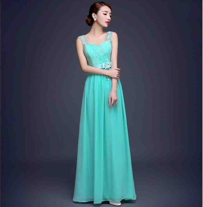Turquoise bridesmaid dresses suit a wedding in any season for Turquoise wedding dresses for bridesmaids