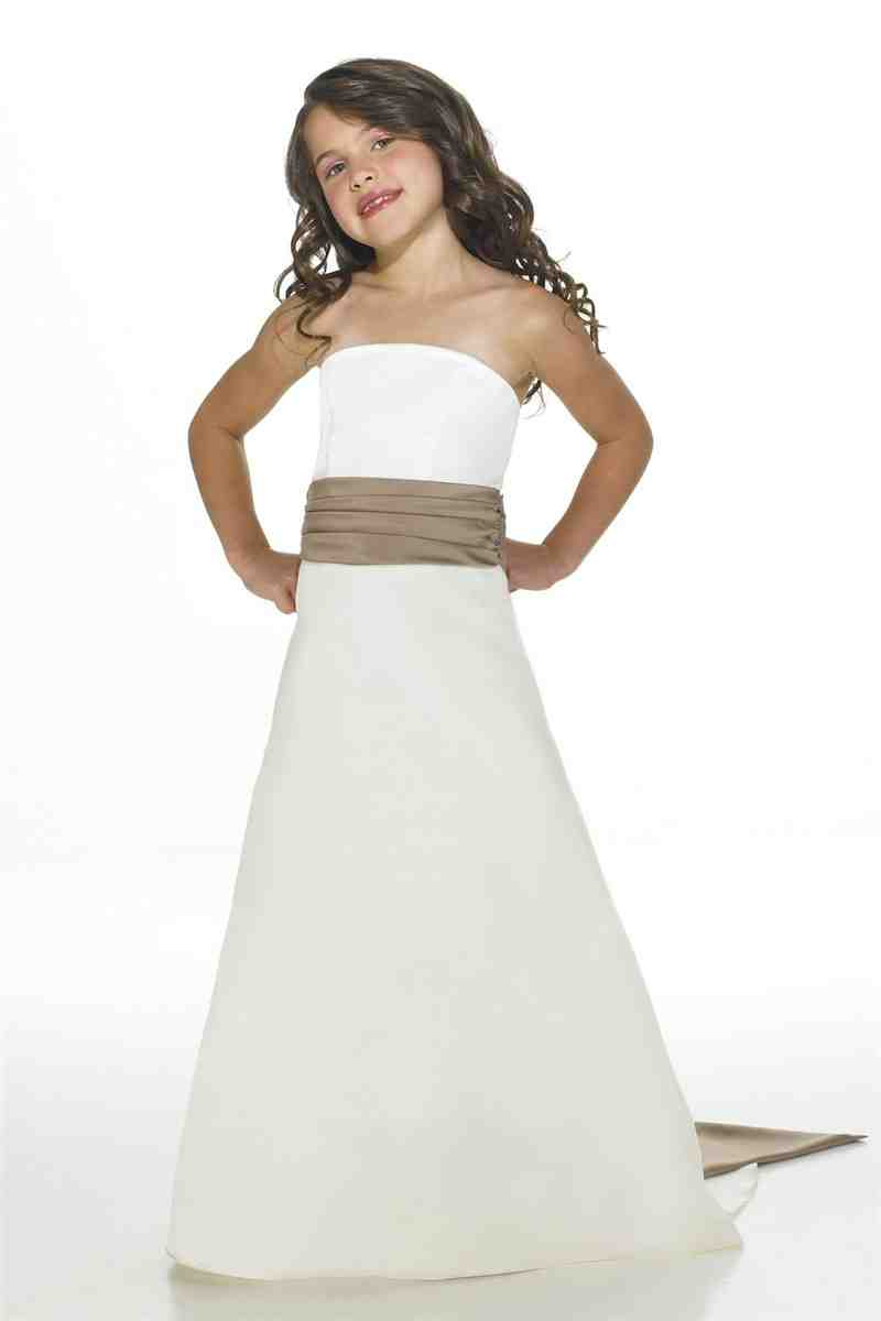 White junior bridesmaid dresses wedding and bridal for Dresses for juniors for weddings