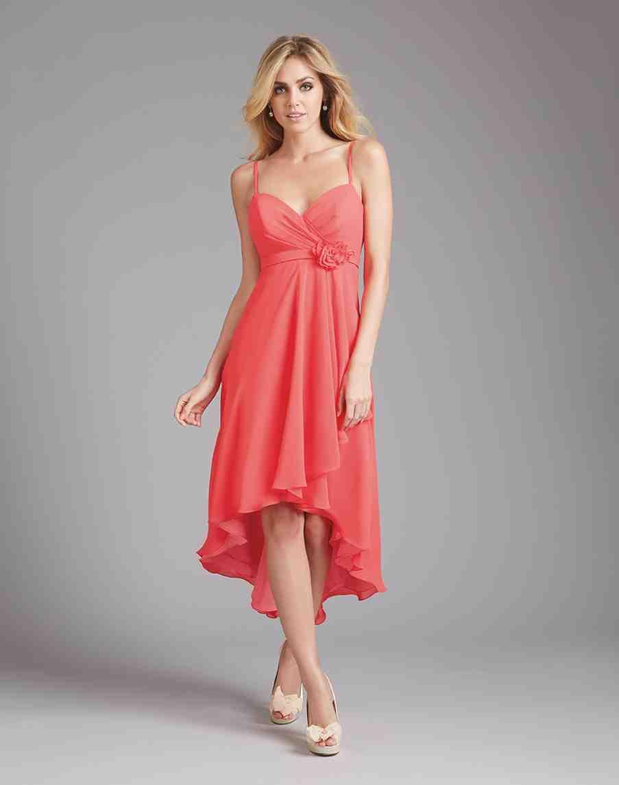 Coral bridesmaid dresses wedding and bridal inspiration for Coral wedding bridesmaid dresses