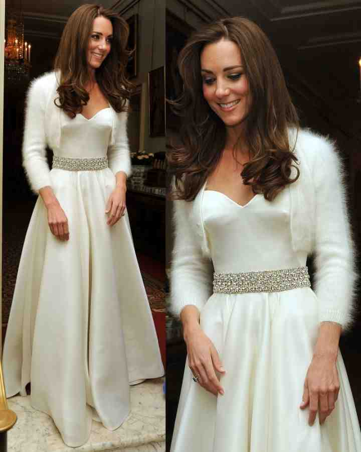 Kate middleton second wedding dress wedding and bridal for Appropriate wedding dresses for second marriage