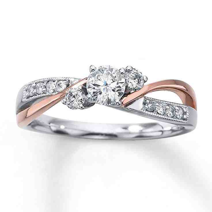 Kay jewelers platinum engagement rings wedding and for Kay jewelers wedding ring