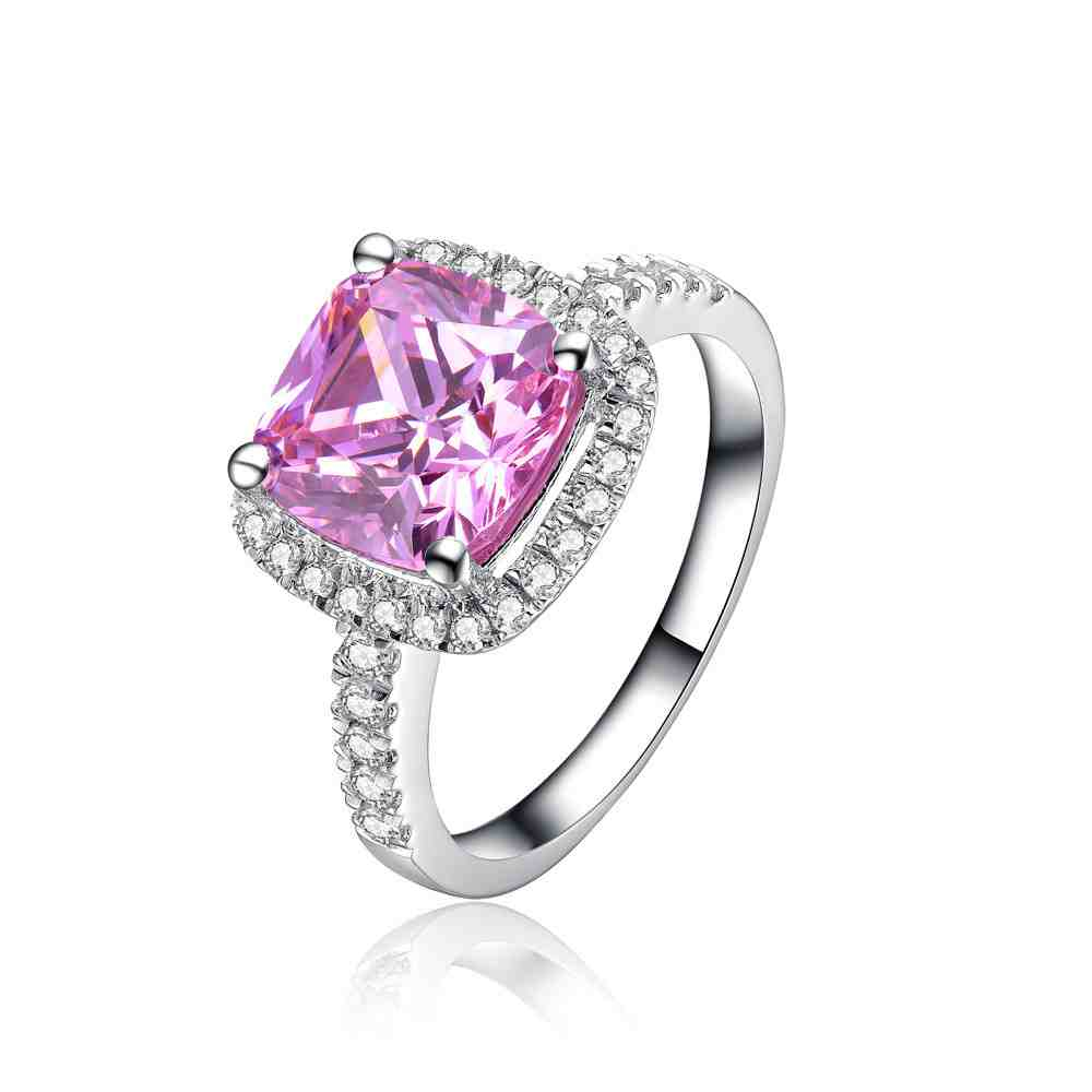 Pink diamond platinum engagement ring wedding and bridal for Pink diamond wedding rings