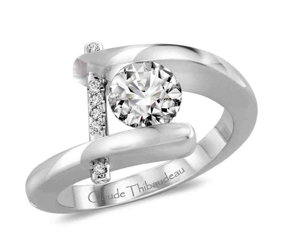 platinum or white gold engagement ring wedding and