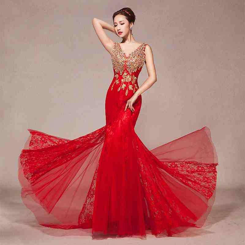 wedding dresses red and gold junoir bridesmaid dresses
