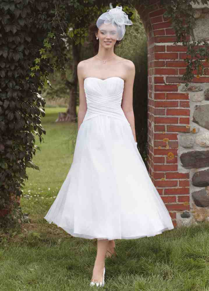 simple tea length wedding dresses wedding and bridal