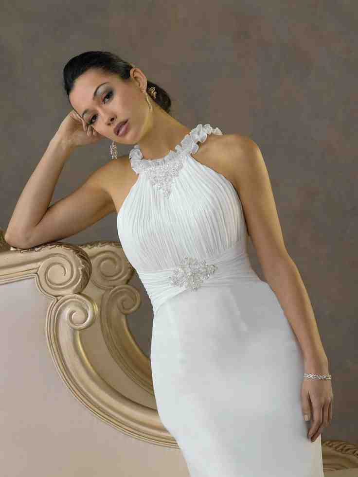 Simple wedding dresses for second marriage wedding and for Dresses for 2nd weddings