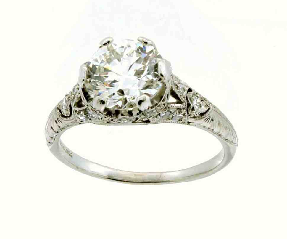 Tiffany platinum engagement rings wedding and bridal for Platinum wedding rings