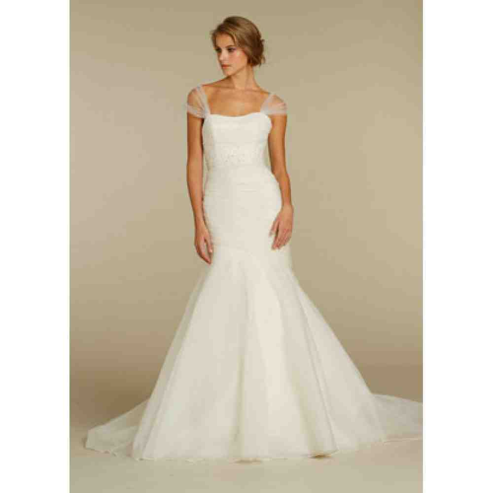 Wedding Dresses  With Straps : Wedding dresses with off the shoulder straps and