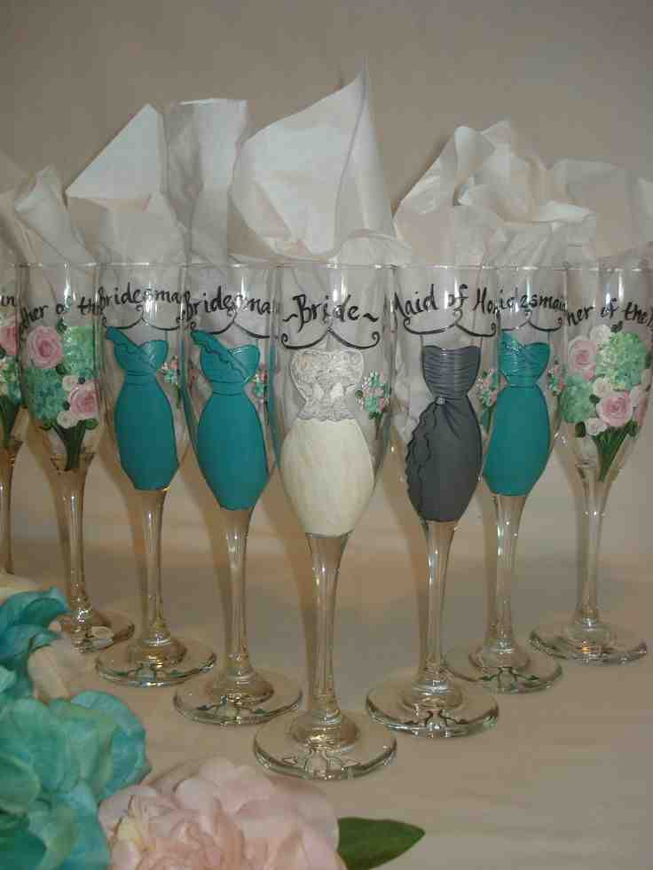 Wedding party gift ideas for bridesmaids wedding and for Wedding party ideas