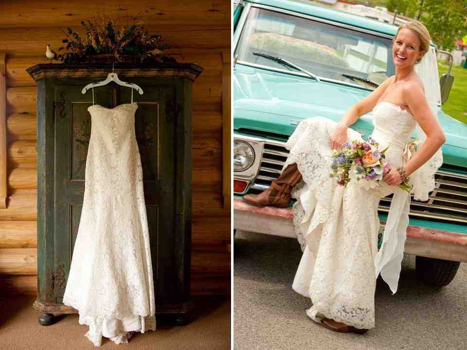 Western wedding dresses with boots wedding and bridal for Western wedding dresses with boots