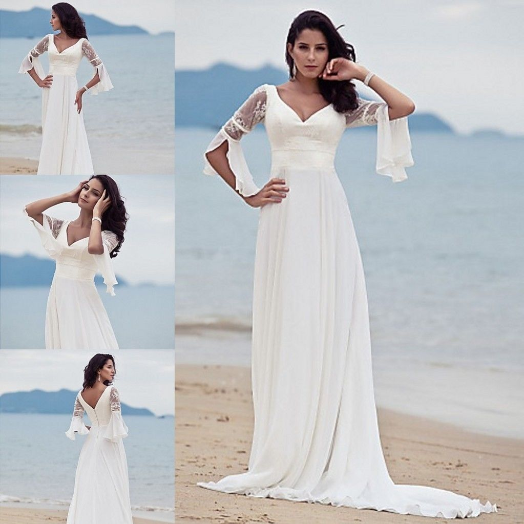 Casual Beach Wedding Dress Ideas