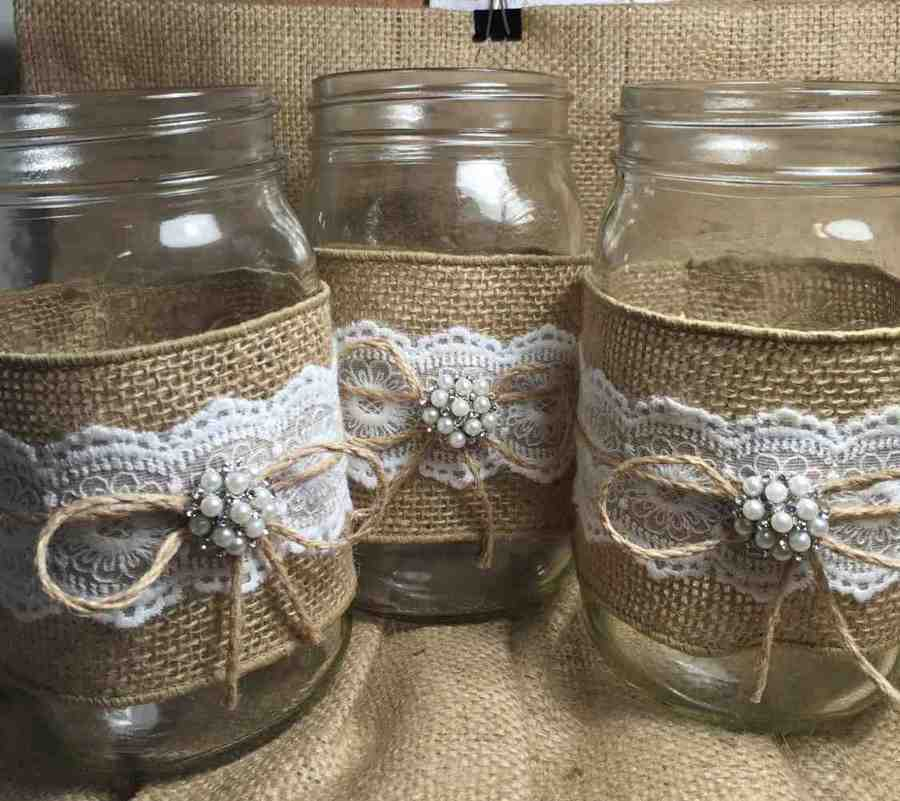 Country Wedding Centerpieces Mason Jars Www Imgkid Com