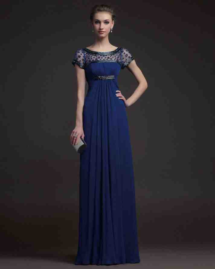 Navy Blue Bridesmaids Dresses With Sleeves : Navy blue bridesmaid dresses with sleeves wedding and bridal