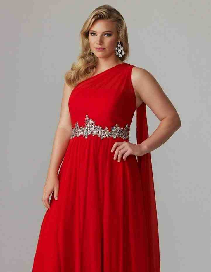Plus Size Red Bridesmaid Dresses - Wedding and Bridal ...  Plus Size Red B...