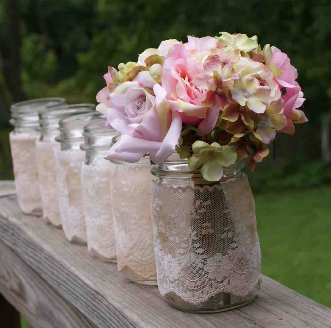 Wedding table decoration ideas diy wedding and bridal for Wedding party table decorations