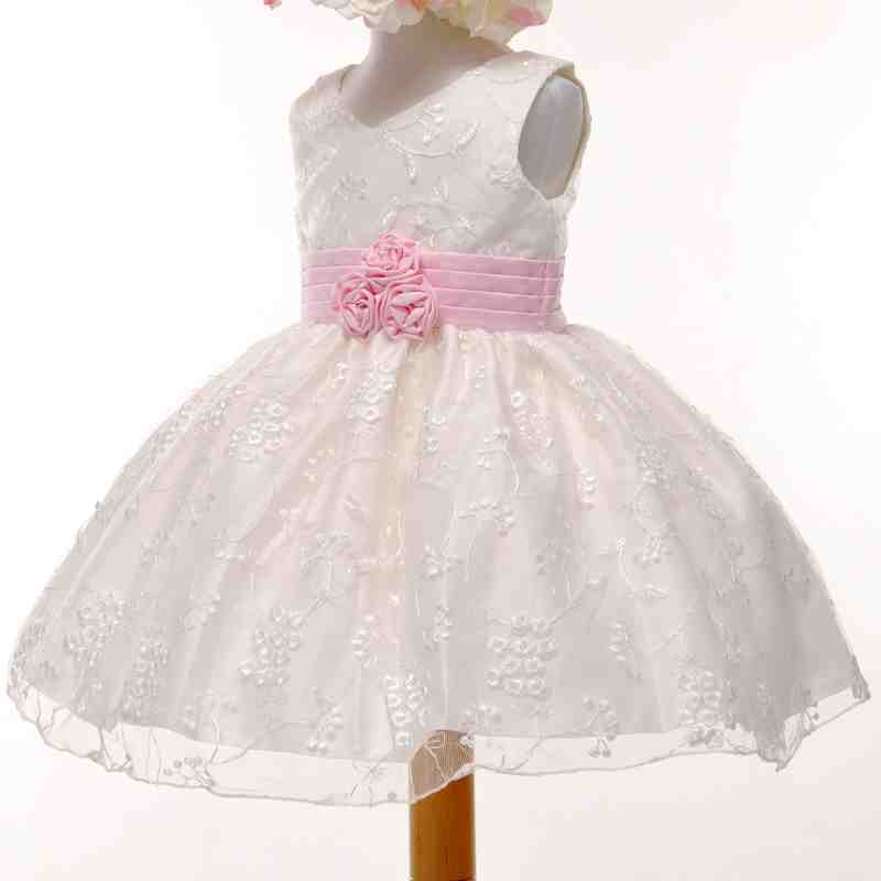 flower girl dress lace - photo #16