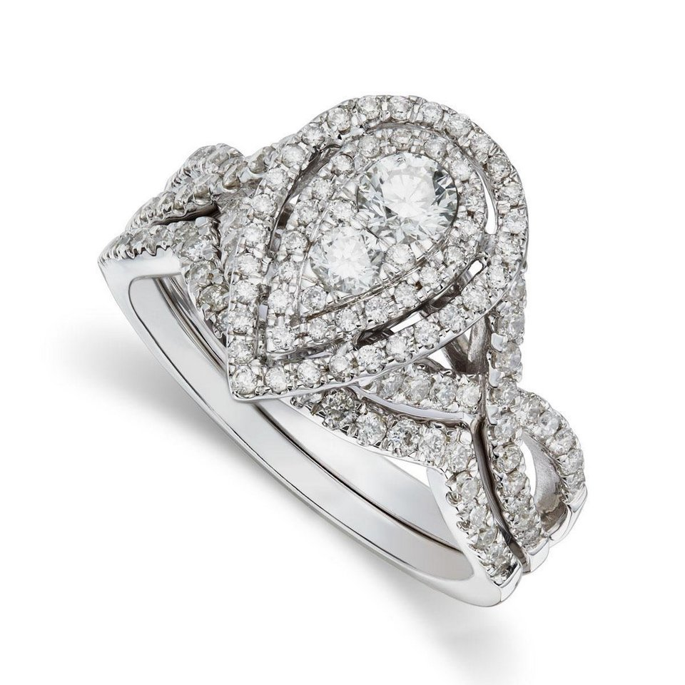 Pear Shaped Engagement Ring Settings Wedding and Bridal Inspiration