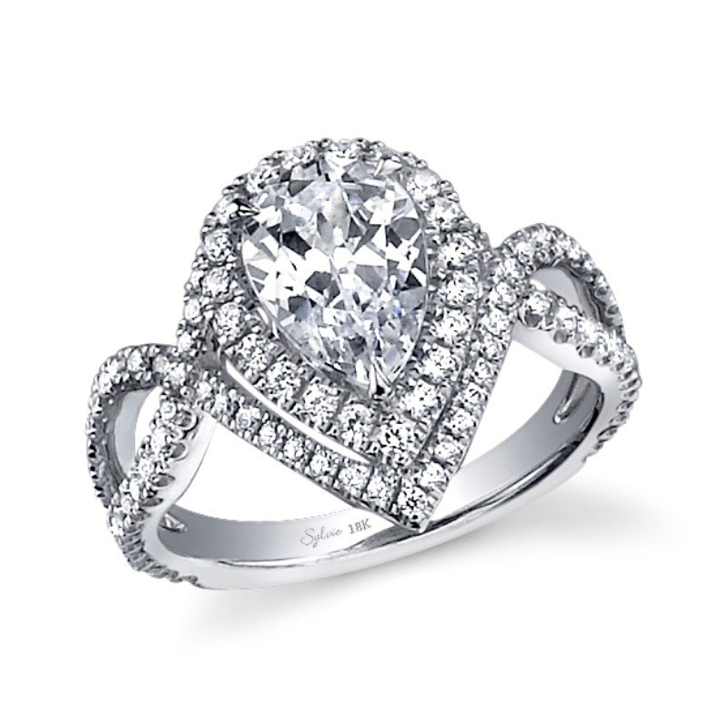 unique pear shaped engagement rings wedding and bridal