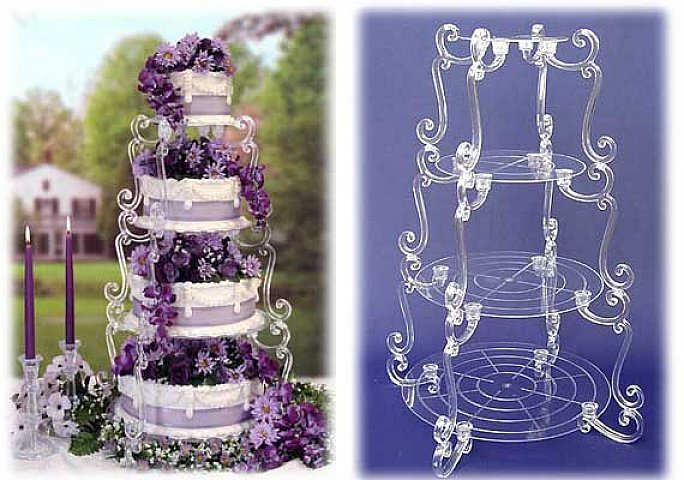 wedding cake 4 tier stands 4 tier wedding cake stand wedding and bridal inspiration 21706