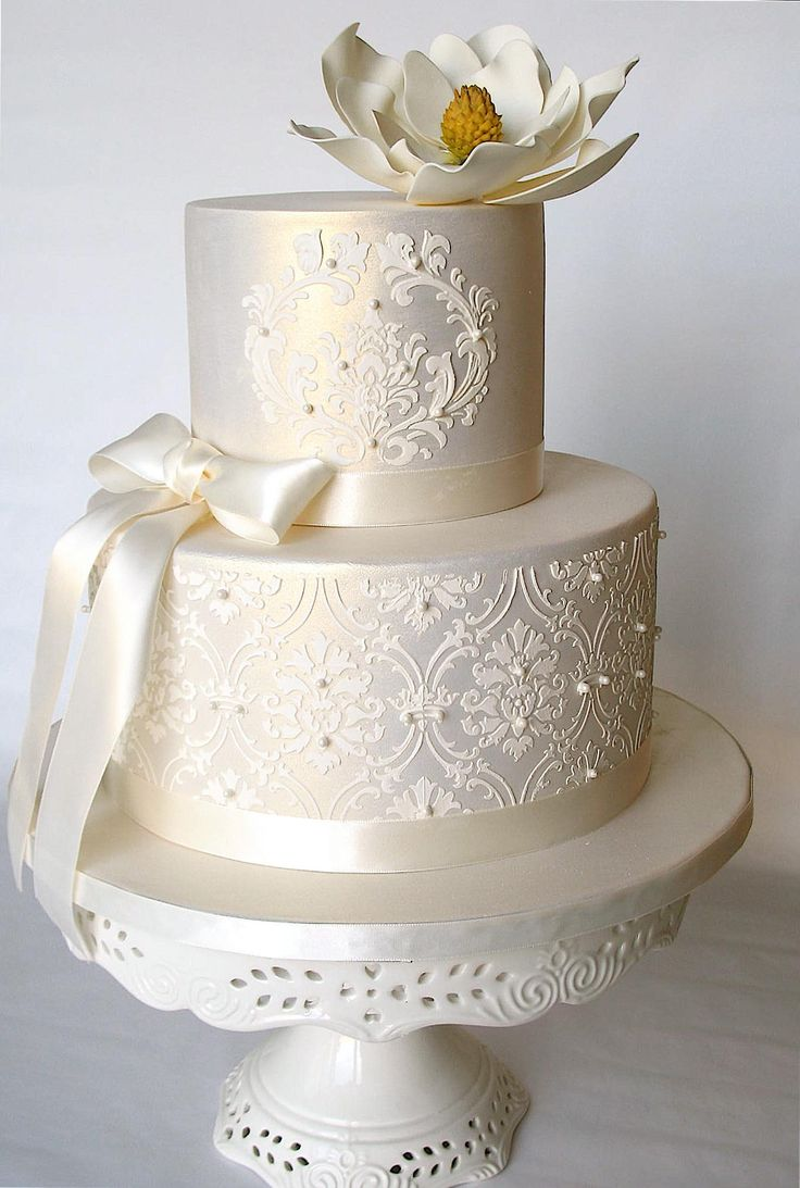 simple elegant wedding cake design simple wedding cakes wedding and bridal inspiration 19970