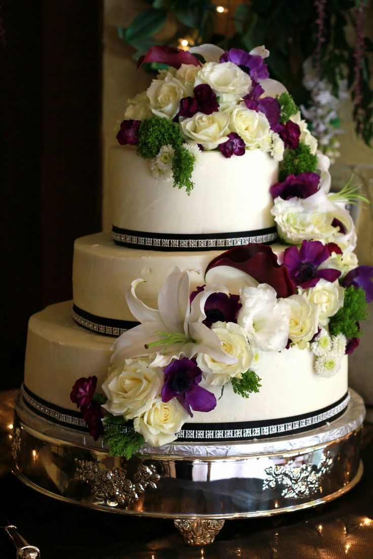wedding cake flower decoration ideas wedding cake flower decorations wedding and bridal 22666
