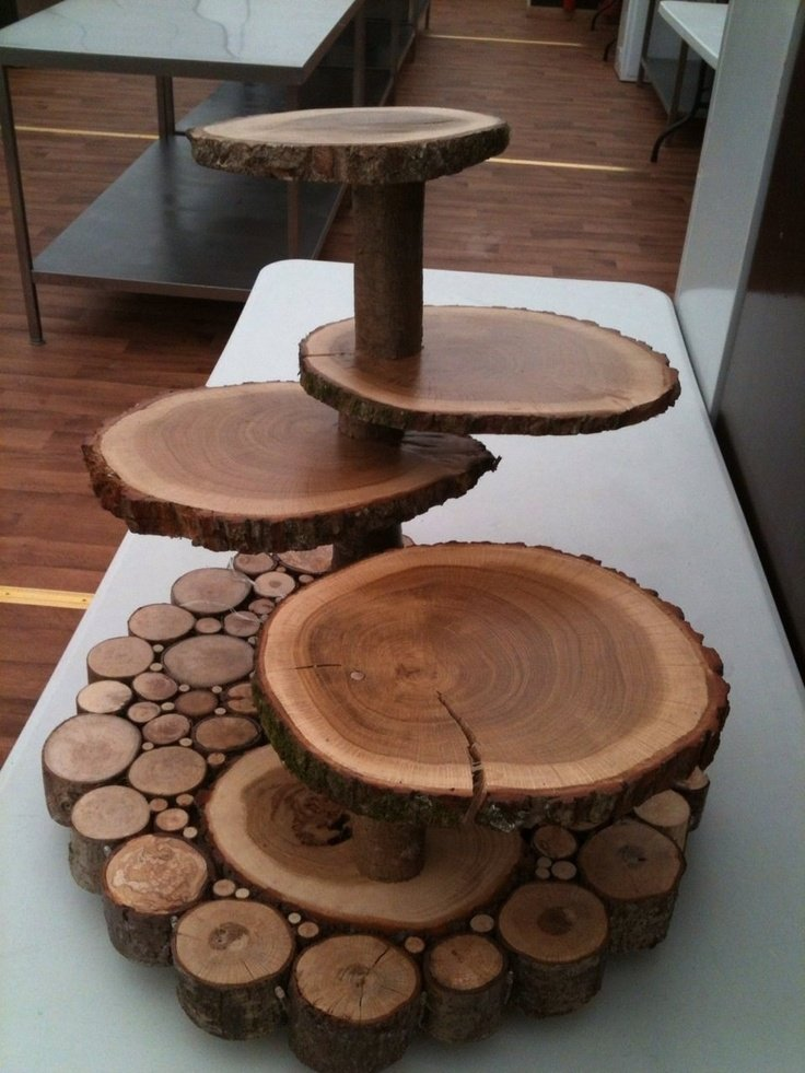 wooden cake stands for wedding cakes wooden wedding cake stands wedding and bridal inspiration 27589