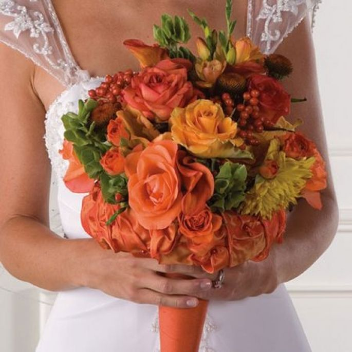 Fall Wedding Flowers On A Budget