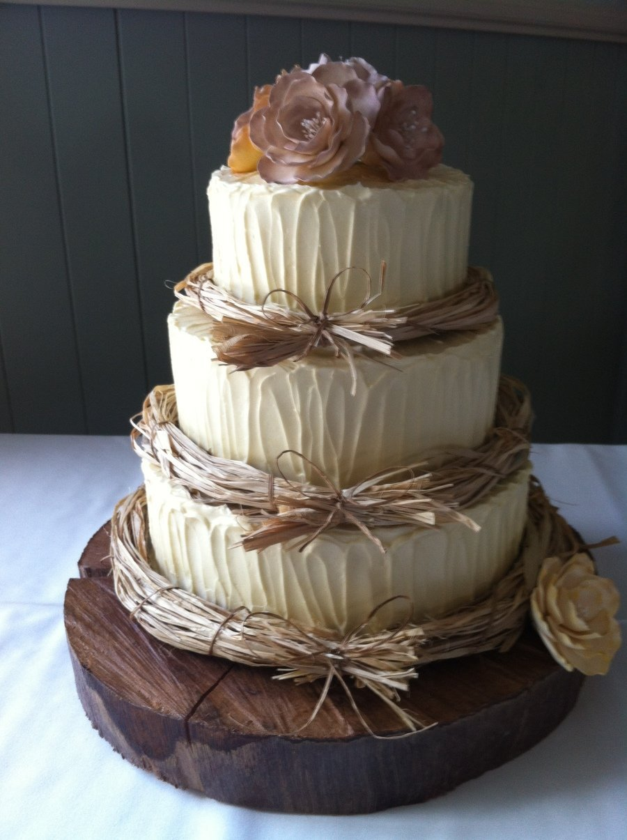 wedding cakes rustic rustic wedding cake designs wedding and bridal inspiration 25402