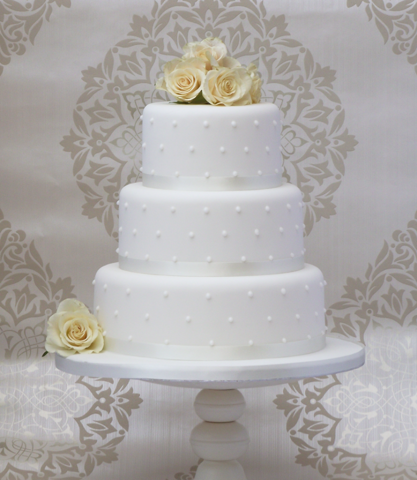 simple 3 tier wedding cake designs simple wedding cake designs wedding and bridal inspiration 19917