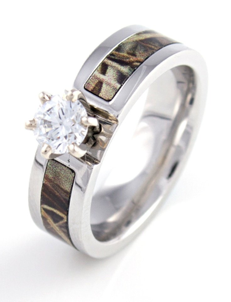 camo wedding rings mossy oak camo wedding rings wedding and bridal inspiration 2409