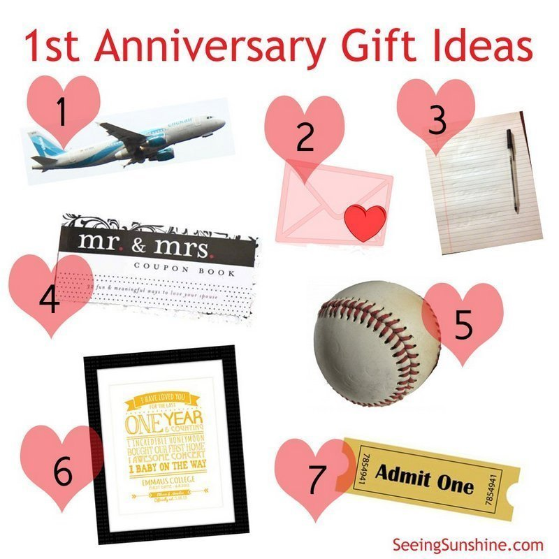 Traditional 1st Wedding Anniversary Gifts: Traditional First Wedding Anniversary Gift