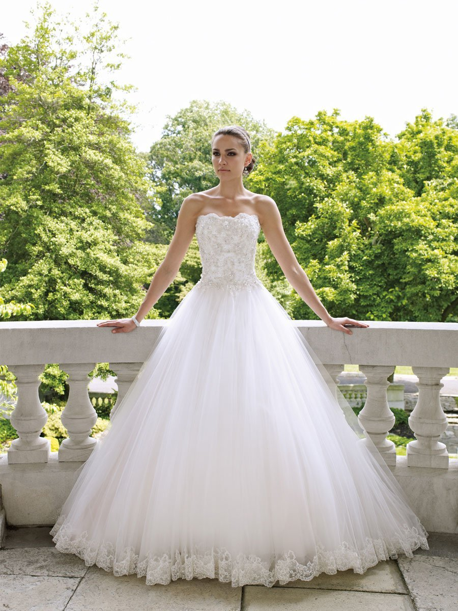 wedding dresses ball gown tulle gown wedding dress wedding and bridal inspiration 9294