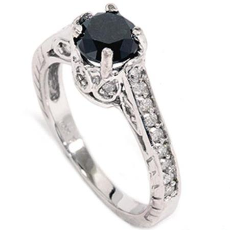 cheap black wedding rings cheap black engagement rings wedding and bridal 2573