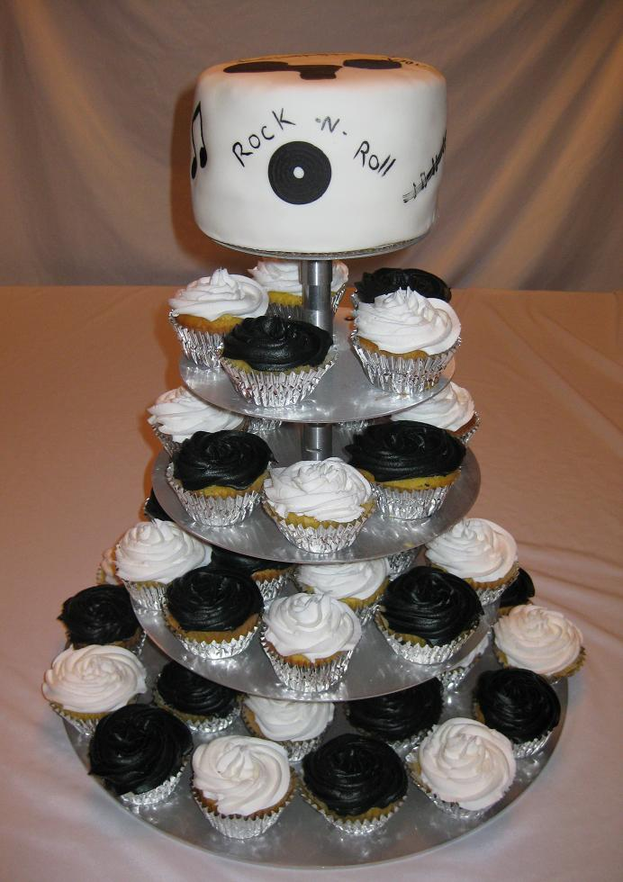 wedding cake and cupcakes stand cupcake tiers for weddings wedding and bridal inspiration 21734